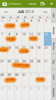 abnehmkalender